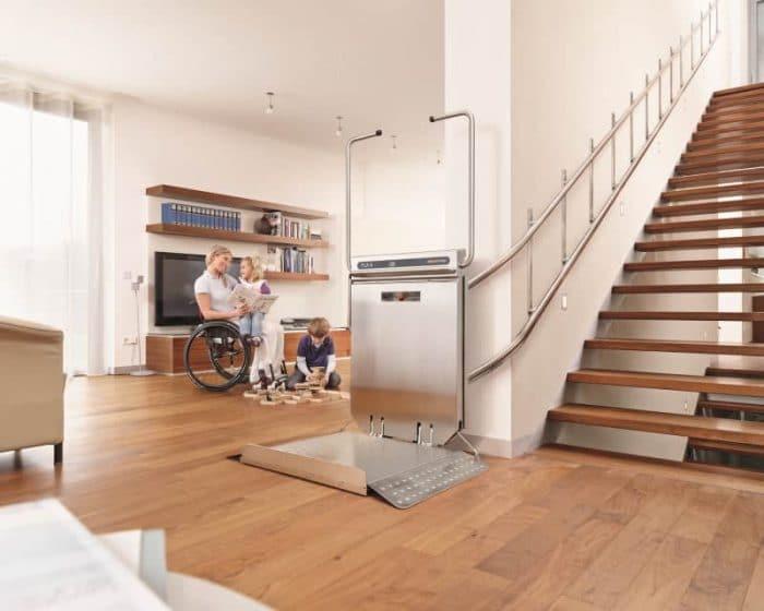Installation d'un monte-charge dans une maison